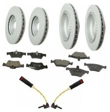 Mercedes W211 4Matic Front & Rear Vented Disc Rotors with Pads, Sensors ATE NEW