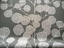 0.5m Stoff Scandinavische Stoffe - Dekostoff 100% Baumwolle- Grau  Br:150cm