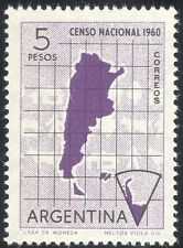 Argentina 1960 Census/Map/Cattle/Antarctic/People/Animation 1v (n26655)