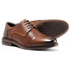 Josef Siebel Men's Myles 05 Cap-Toe Leather Oxford Shoes Eur 43 Us 9.5 M Brown