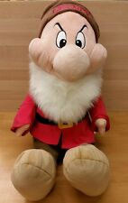 The Disney Store GRUMPY Jumbo Large Plush Snow White & The Seven Dwarfs