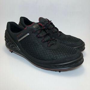 Ecco Natural Motion Hydromax Golf Shoes Men's 12 US / EU 46 Black Red