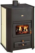chauffage au bois poêle intégré chaudière cheminée bûche 29kW PRITY WD W24
