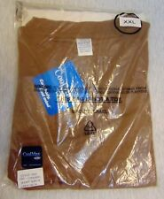 CoolMax Short Sleeve Crew Neck T-Shirt Brown Size XXL