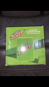 Mtn Dew MIS134MD 6-Can Mini Fridge