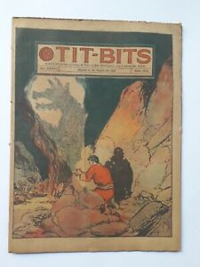 TESS AND THE GHOST KNIGH! - TIT-BITS #1834 (1944) - COMIC IN SPANISH - ARGENTINA