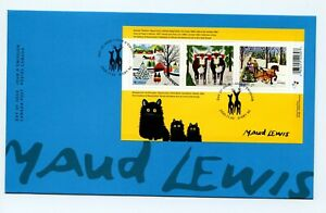 2020 Canada Christmas Maud Lewis FDC Souv Sht SOLD OUT AT CANADAPOST Art A469