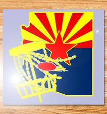"6"" Arizona Disc Golf Vinyl Decal"
