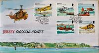 """Jersey Stamps: Jersey """"Rescue Craft"""" First Day Cover 2005"""