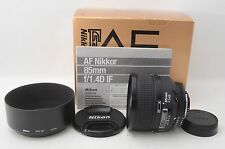 【NEAR MINT!!】Nikon AF Nikkor 85mm F1.4 D No.40**** From Japan #1305