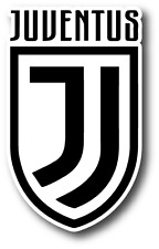 "Juventus FC Italy Football Club Soccer Car Bumper Sticker Decal 3""X5"""