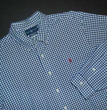 RALPH LAUREN Men's Button Front Shirt ~ XL ~ Custom Fit ~ Long Sleeve ~ Checked