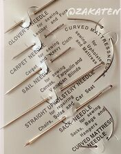 Premium Hand Sewing Needles for Sewing Repair Two Random in Four Colors ,Six Needle Types 1 Pack of 30 Assorted Hand Sewing Neeldes with 2 Quality Threaders