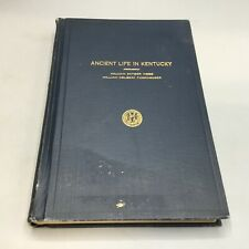 Ancient Life in Kentucky - W.D. Funkhouser / W.S. Webb 1928 Kentucky Geological
