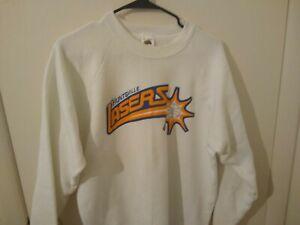 Vintage 90s 1991 Huntsville Lasers Basketball Men's White Sweatshirt XL Alabama
