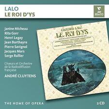 Lalo: Le roi d 'Ys-MICHEAU/Gorr/LEGAY/CLUYTENS/onortf Home of Opera 2 CD NEUF