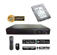 Hikvision OEM HD-TVI 16 ch channel DVR 1080p Hybrid TVI/Analog/IP Installed 4TB