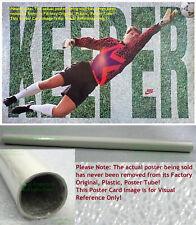 NITF! ☆ Vintage 1994 ☆ OLD STOCK ☆ NIKE Poster ☆ KEEPER ☆ Soccer Goalkeeper