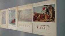 Maestri Del Colore D'arti Bergamo Guardi Tiepolo Francesca Buoninsegna book lot