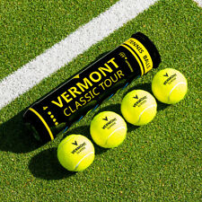 Vermont Classic Tour Tennis Balls | ITF APPROVED - Bulk Buy Tournament Standard