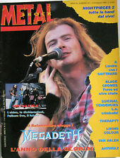 METAL SHOCK 137 1993 Megadeth Gotthard Black Crowes Suicidal Tendencies Ramones