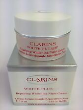 Clarins Paris White Plus HP 15ml 0.53oz Repairing Whitening Night Cream Jar BNIB