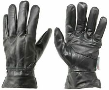 Men's Genuine Leather Winter Warm Gloves 3M Thinsulate Insulated Fur lined NEW