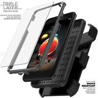 LG Rebel 4 3 Fortune Aristo 2 Plus Phoenix 3 4 Zone 4 Case Clip SCREEN PROTECTOR