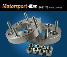 """Wheel Adapters 4x100 To 4x130 Spacers 4x100/4x130 1"""" Thick"""
