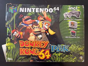 Nintendo 64 Limited Ed Donkey Kong Pak Ottime Condizioni Completa PAL Multi