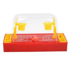 Plastic Indoor 2Player Mini Table Desktop Basketball Game Developmental Toys