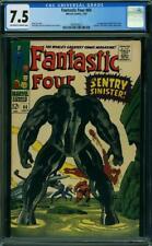 Fantastic Four #64 CGC 7.5 -- 1967 -- 1st app Kree Sentry. Lockjaw #1997616011