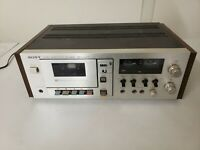 Sony TC-209SD Stereo Cassette Tape Deck Player (For Parts or Repair )