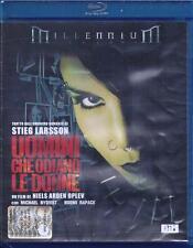 Blu Ray disc **UOMINI CHE ODIANO LE DONNE** dal romanzo di Stieg Larsson 2009