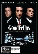 GOODFELLAS - BRAND NEW & SEALED R4 DVD (ROBERT DE NIRO, RAY LIOTTA, JOE PESCI)