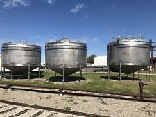 12000 Gallon 316l Stainless Steel Cone Bottom Tank