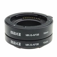 Meike Automatic Extension Tube adapter for Sony E-Mount NEX-7 A6000 A6600 A7R A7