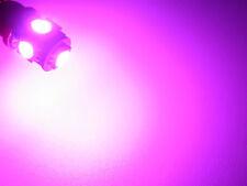 1 Pair FUCSHIA PURPLE LED License Plate Tag Bulbs MAP DOME LIGHT 194 168 T10