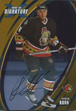 (HCW) 2002-03 BAP Signature Series Gold RADEK BONK Autograph Auto UD 00346