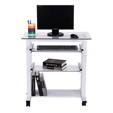 HOMCOM Mesa de Ordenador PC Escritorio de Oficina Despacho Escuela 80x51x83cm