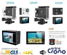 Sport Action Pro Cam Camera 4K WiFI Waterproof Videocamera Subacquea Go EKEN H9R