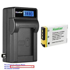 Kastar Battery LCD Wall Charger for Genuine Kodak KLIC-7003 Battery & Charger