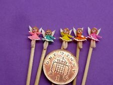 5 x Hand Made  Little Angels On A Stick Dolls House Miniature Nursery