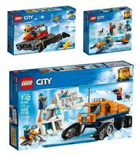 Lot of 3 LEGO CITY ARCTIC sets 60194 60191 60222 New in Boxes Total RRP £68