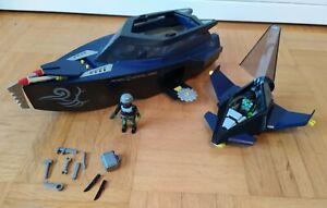 Playmobil 4882 Top Agents Robo Gang, Boot mit Kanonen und Gleiter