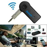 Wireless Bluetooth Receiver AUX Audio Stereo Music 2.4GHz Car Adapter L4Z6