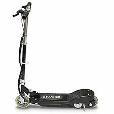 vidaXL Monopattino Elettrico Nero 120W 12 Km/h per Bambini Scooter con Freno