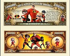 The Indestructibles! Ticket Million Dollar US - Cartoon Super Heros Disney