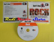 CD DON'T STOP ROCK CD 4 compilation 2013 PAT TRAVERS ZAKK WILDE (C5) no mc lp