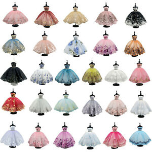 Fashion Elegant Ballet Dress For 1/6 Doll Clothes Party Dresses For 11.5in Doll
